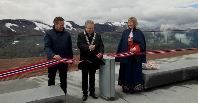 Offisiell opning av Geiranger Skywalk – Dalsnibba